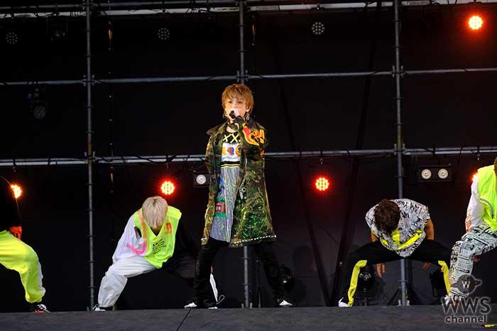 Shuta Sueyoshiが地元長崎で「a-nation 2018」に出演!圧巻のパフォーマンスを披露!!
