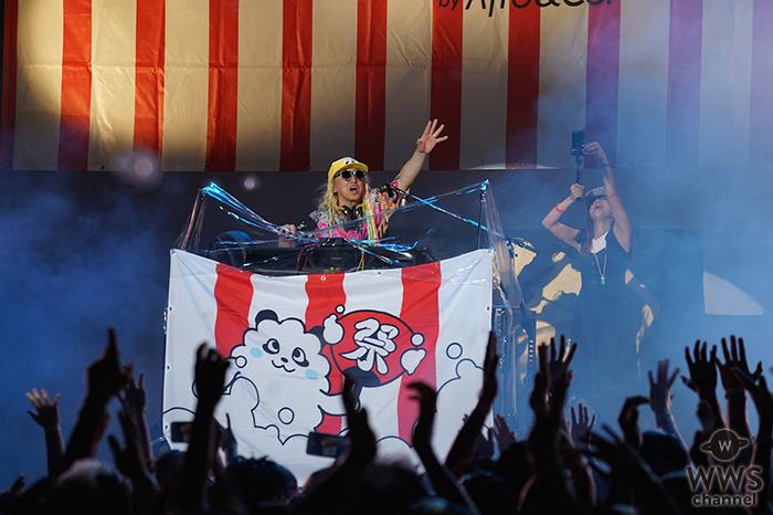 泡まみれの盆踊乱舞!DJ KOOが泡フェス祭参戦!