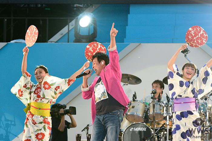 TUBE、通算30回目となる記念すべき横浜スタジアム公演開催し3万人が熱狂!サプライズゲストに加山雄三が登場!