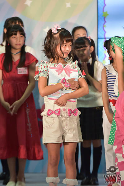 照内心陽(てるうちこはる/11歳)が見事グランプリ!「ここに立っているのが夢みたい」<ちゃおガール2018☆オーディション>