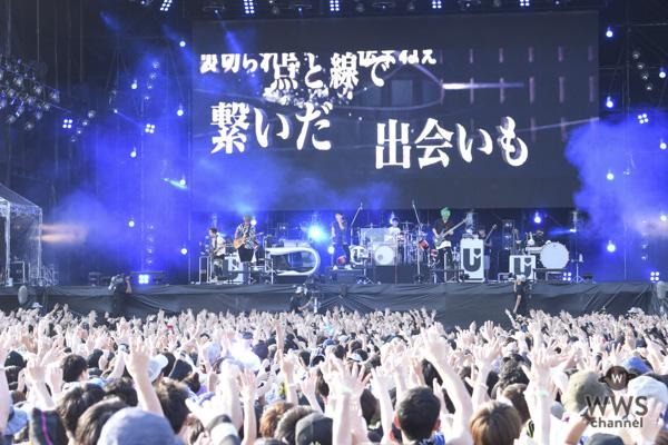 UVERworldが「ROCK IN JAPAN FESTIVAL 2018」初日に登場!2年ぶりの参戦でROCK IN JAPANのステージに対する思いを語る。