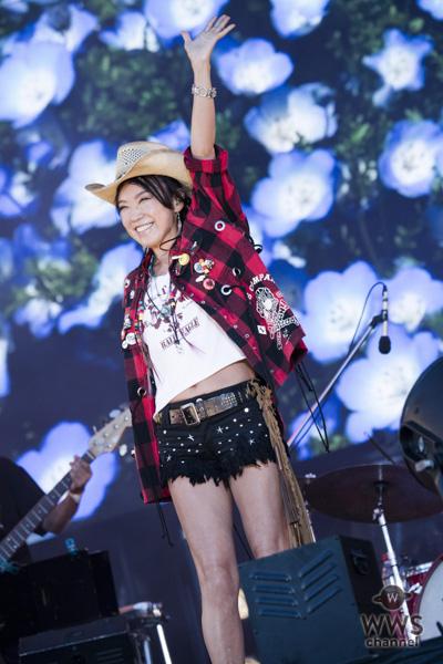 松任谷由実(ユーミン)まさかのフェス参戦で、誰もが知る名曲の数々を惜しげもなく披露!「ROCK IN JAPAN FESTIVAL 2018」2日目のGRASS STAGEに登場!