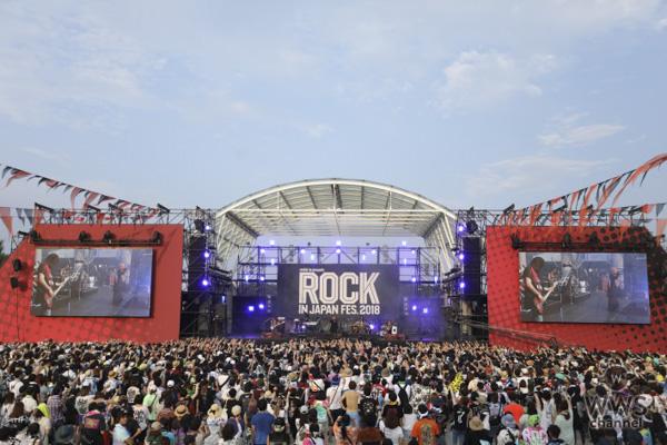 【ライブレポート】HYDEが「ROCK IN JAPAN FESTIVAL 2018」2日目にソロで参戦!L'Arc-en-Cielの代表曲『HONEY』をまさかのサプライズ演奏!