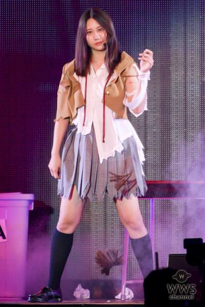 SKE48・古畑奈和がライブで自らの髪を断髪!?「AKB48グループ感謝祭〜ランクインコンサート〜」2日目