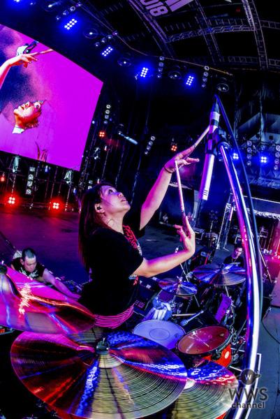 マキシマム ザ ホルモンが「ROCK IN JAPAN FESTIVAL 2018」2日目のGRASS STAGEに登場!体感温度43度!? 灼熱のGRASS STAGEを定番曲と地元ネタで盛り上げる!
