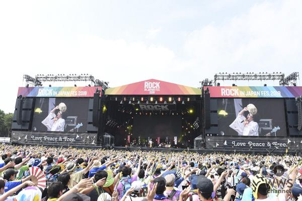 レキシが初出演ながら、唯我独尊のステージで会場を爆笑の渦に!「ROCK IN JAPAN FESTIVAL 2018」2日目のGRASS STAGEに登場!