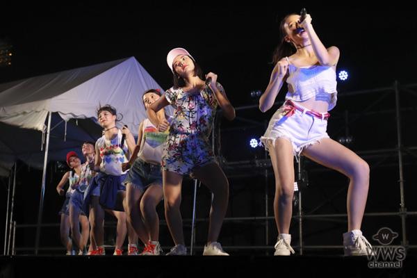 7人組ダンス&ボーカルグループ・Chuning Candyが神宮軟式球場アフターライブに出演!〈2018神宮外苑花火大会〉