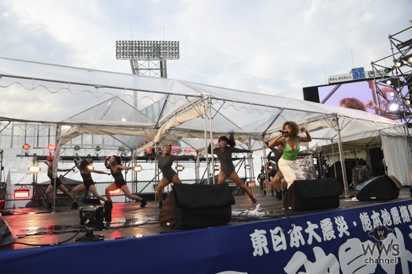 Crystal Kayが神宮球場メインステージに出演!〈2018神宮外苑花火大会〉
