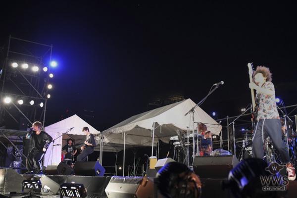 Aqua Timezが神宮軟式球場メインステージに出演!最後の神宮花火大会で『虹』を熱唱!!〈2018神宮外苑花火大会〉