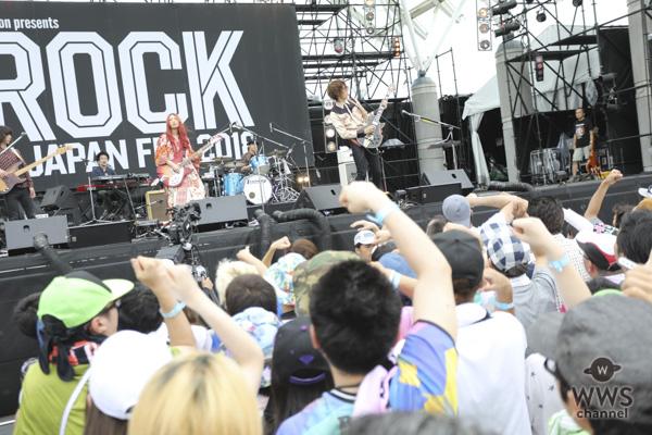 """【ライブレポート】GLIM SPANKY """"聴かせるロック""""でオーディエンスの心をわしづかみ!<ROCK IN JAPAN FESTIVAL 2018>"""