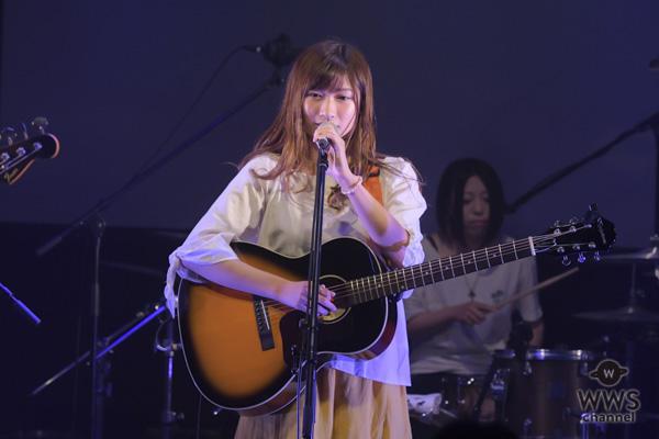 シンガーソングライター・大野舞が初日トップバッターを飾る!愛知県出身「記憶の真ん中に置いていただけたら嬉しい」!!<UNION STAR'S 2018>