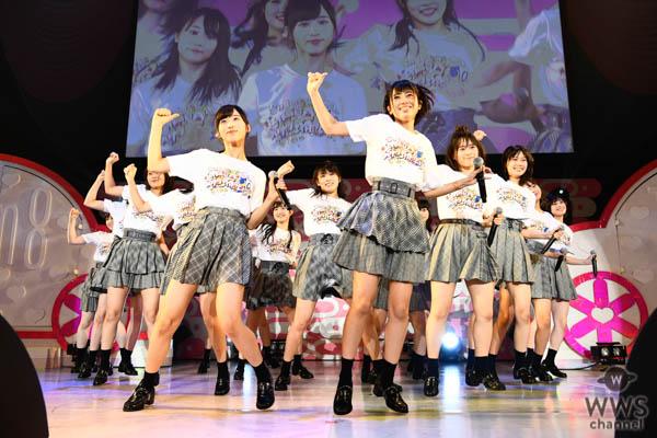 【ライブレポート】AKB48チーム8 「8月8日はエイトの日 夏だ!エイトだ!ピッと祭り!」を豊洲PITで開催!AKB48史上初の平日4公演に挑戦!