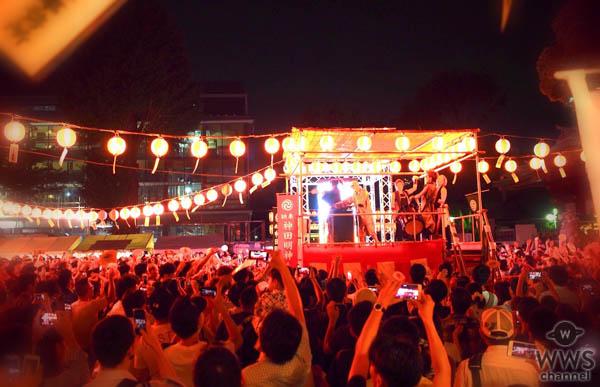 神田明神の納涼祭りがツイッタートレンド1位。DJ KOOとCool Japan TVがプロデュースする現代版の盆踊りに来場者が熱狂!!