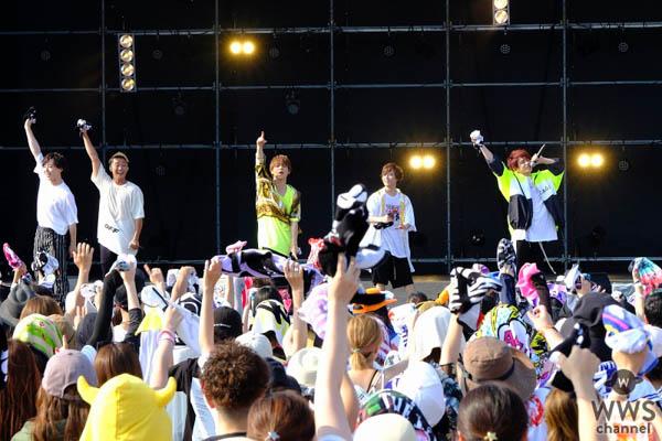 2018年「a-nation」が長崎で開催。倖田來未、Shuta Sueyoshi、SUPER JUNIOR-D&Eら夏晴れの下、観客8,000人を魅了!