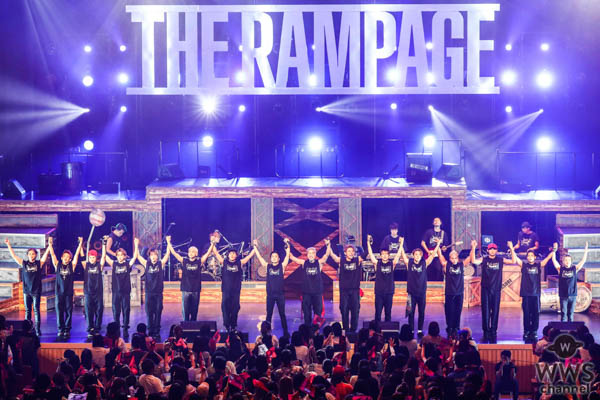THE RAMPAGE from EXILE TRIBE、初の単独全国ホールツアーで全58公演12万人動員し、EXILE TRIBE初の全都道府県制覇!アルバムに収録されるツアー東京公演の模様も公開!!