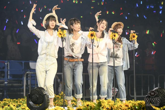 NGT48がランクインコンサートで『向日葵』『アイドルなんて呼ばないで』を披露!