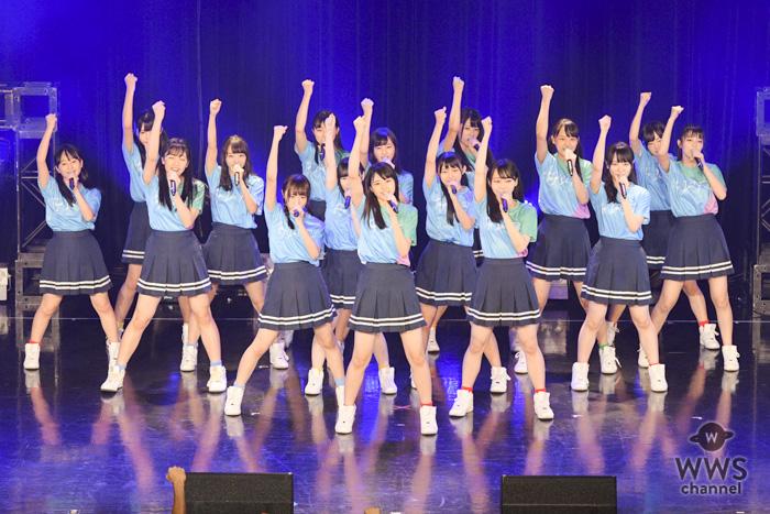 STU48が「TIF2018」スペシャルファンミーティングステージに出演!初日の「HOT STAGE」で『夢力』を熱唱!!