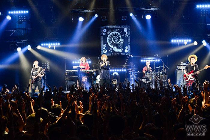 デビュー13周年を迎えたAqua TimezがマイナビBLITZ赤坂にてライブ!