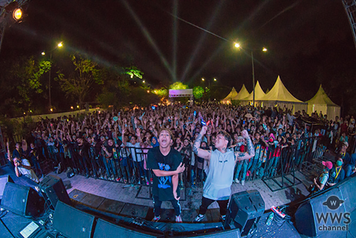 BACK-ON、初のインドネシアで2000人が熱狂!!