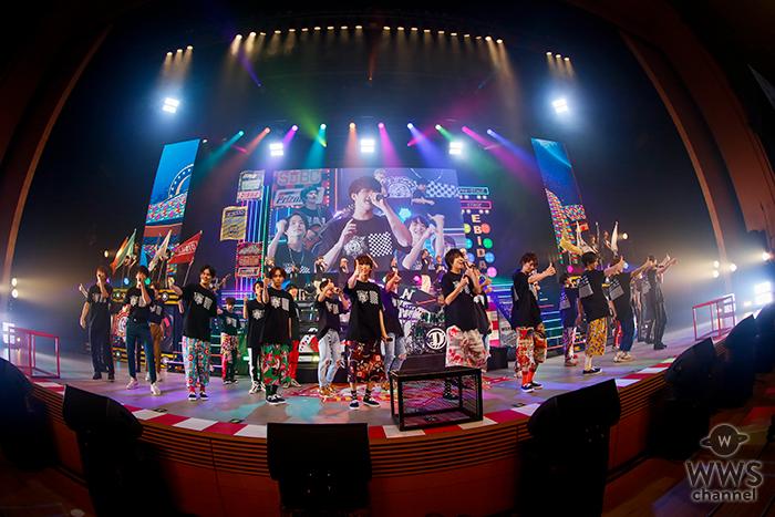 『EBiDAN THE LIVE 2018 ~Summer Party~』超特急はじめ若手アーティスト集団・EBiDAN所属の総勢48人が圧巻のステージ!!