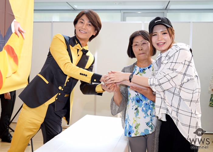 氷川きよし、東阪2000名のファンと握手会を開催!10月2日に ニューアルバムの発売が決定!!