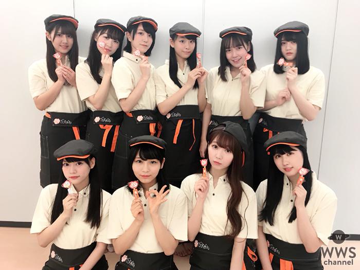 8月7日は、はなまるうどんの日! =LOVE(イコールラブ)がユニフォーム姿で1日アルバイト!!