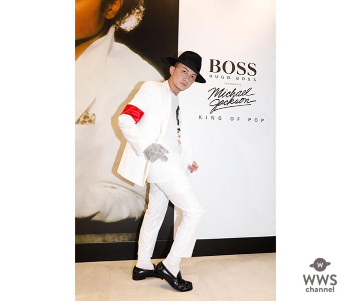 マイケル・ジャクソン生誕60周年、BOSSより「スリラー」で使用されたホワイトスーツが日本5着限定で発売!特別ゲストISSAがマイケル愛を語り、ムーンウォークを披露!