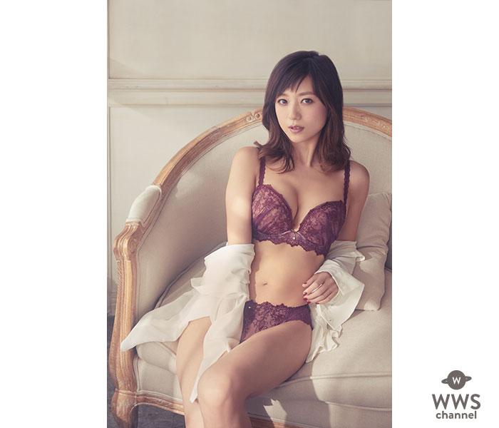 アーティスト・モデルの伊藤千晃が着用!「アンフィ」より、リッチな谷間が叶う『グラマリッチブラ』の最新コレクションが登場!!