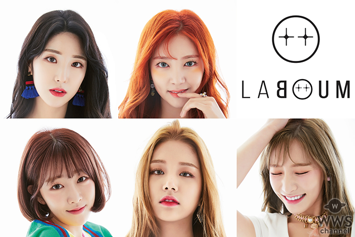 韓国発5人組ガールズグループ、LABOUMが日本メジャーデビュー!11月7日に日本1stシングルのリリースが決定!!