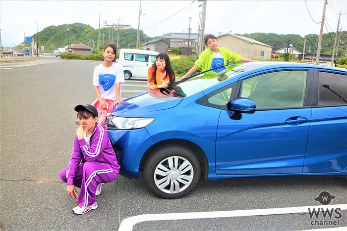 9nine、国道9号線800km横断プロジェクト中!米子でミニライブ開催!!