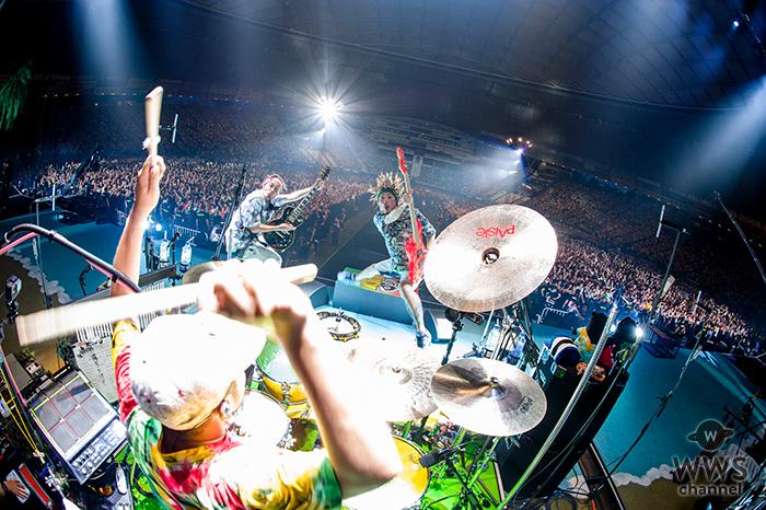 WANIMA、2日間で7万人を動員した初のドーム公演「Everybody!! Tour Final」完遂!20万人を動員する 過去最大規模の全国ツアーファイナル!!