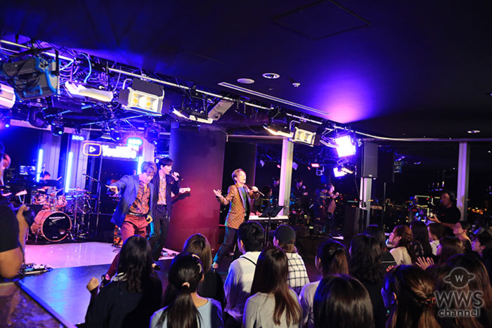 w-inds. 、YouTube Space Tokyoで魅せたプレミアムライブ!!
