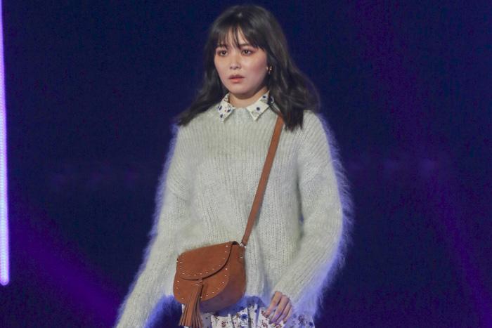 久間田琳加が「東京ガールズコレクション2018 AUTUMN/WINTER(TGC 2018 A/W)」のランウェイに登場!