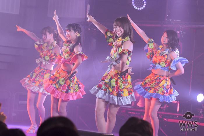 SUPER☆GiRLSが『@JAM EXPO 2018』に出演!『ギラギラ☆Revolution』を含むノンストップのライブパフォーマンス!!
