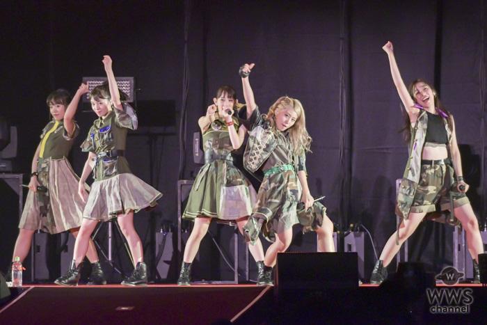 【ライブレポート】チームしゃちほこ、初登場の『@JAM EXPO 2018』でノンストップのライブパフォーマンス!!