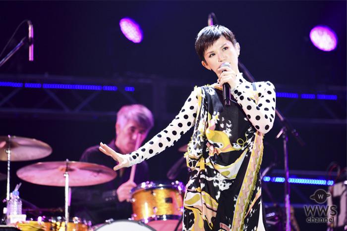 【ライブレポート】Superfly 、4年ぶりのドリフェスで、ヒット曲『愛をこめて花束を』『タマシイレボリューション』含む全7曲を披露!<テレビ朝日ドリームフェスティバル2018>