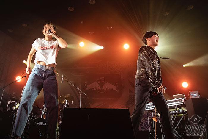 向井太一がレッドブル主催イベント「SOUND JUNCTION」に登場。持ち前のグルービーな世界観で、あっこゴリラとのコラボも披露!