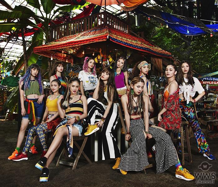 E-girls、映画『パーフェクトワールド 君といる奇跡』の主題歌を「Perfect World」10/3にリリース!!