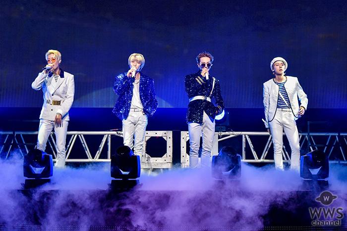 "WINNER、全9都市14公演自身最多公演数となるツアー""WINNER 2018 EVERYWHERE TOUR IN JAPAN""開幕!日本デビュー4周年をサプライズケーキで祝福!!"