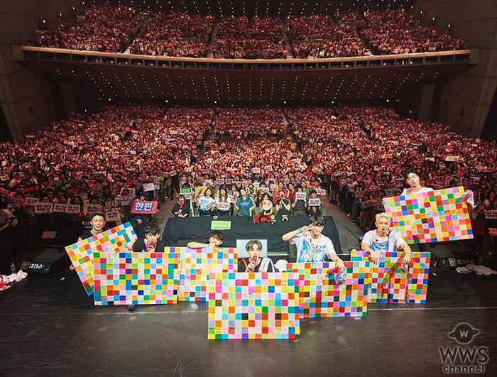 7人組ボーイズグループiKON、 デビュー3周年を東京国際フォーラム公演で超満員のファンと祝福!