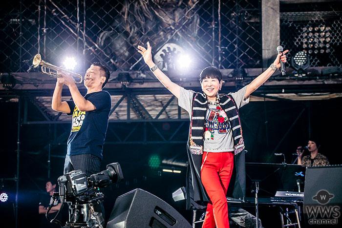 【ライブレポート】和田アキ子3年ぶりに気志團万博2018に登場!故・アレサ・フランクリンに捧ぐ魂のソウルを熱唱!