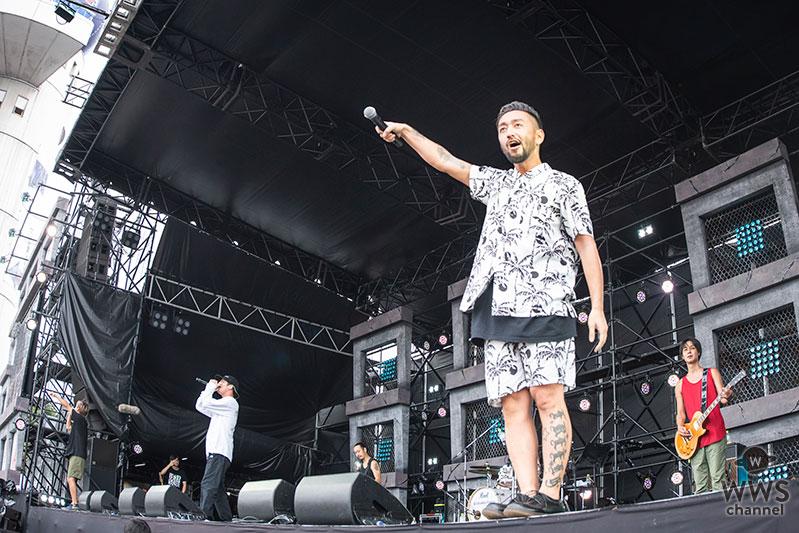 【ライブレポート】ORANGE RANGEが氣志團万博2018に初登場! 小雨の天候が一転、イケナイ太陽が照り付ける中で大盛り上がり!