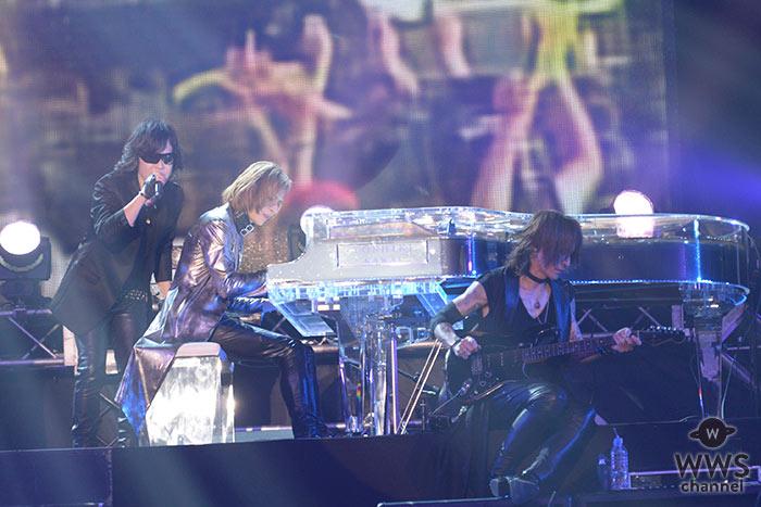 【ライブレポート】YOSHIKIとToshlが手繋ぎ! X JAPANの名曲が集約された感動ライブにオーディエンスも涙!<テレビ朝日ドリームフェスティバル2018>