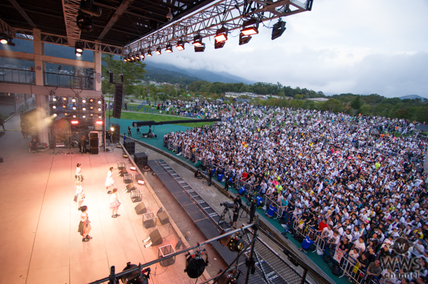 ベイビーレイズJAPANが山中湖でラストライブ開催!林 愛夏「言葉はありません。5人それぞれの道を進んで行きます!」