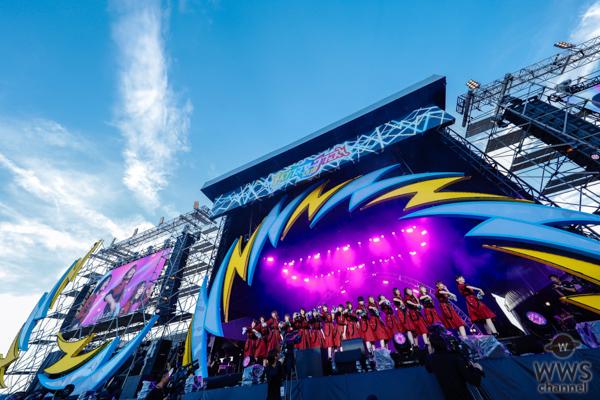 欅坂46が「イナズマロック フェス 2018」に出演! 「二人セゾン」ほか全5曲披露!