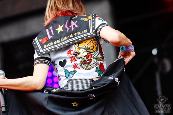 【ライブレポート】LiSAが特注セーラー特攻服で気志團万博2018に登場!レアなセトリにファン大興奮!