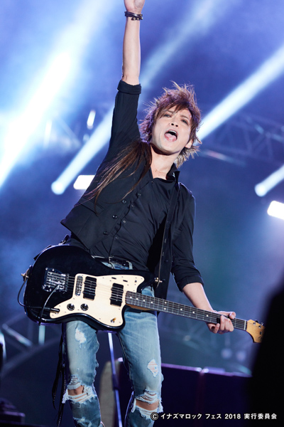 LUNA SEAが「イナズマロック フェス 2018」初日トリで出演!名曲「PRECIOUS …」を西川貴教と共に熱唱!
