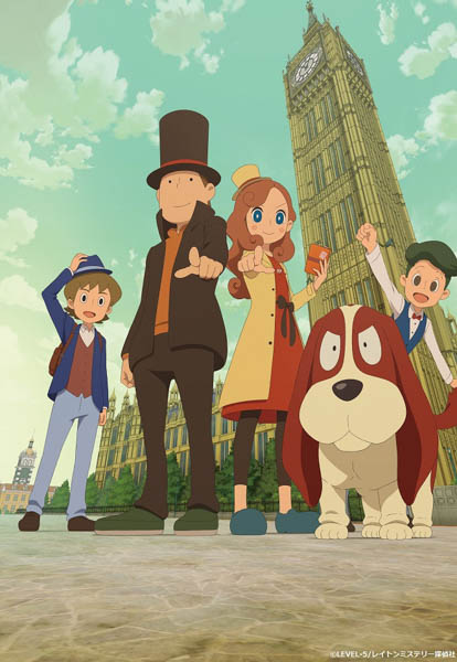 J☆Dee'Z、新曲がTVアニメ『レイトン ミステリー探偵社 〜カトリーのナゾトキファイル〜』の新EDテーマに決定!