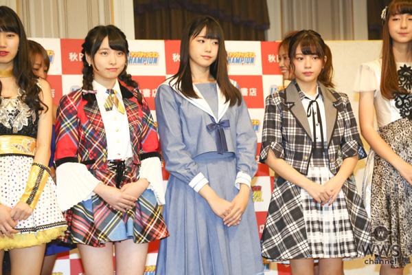 STU48・瀧野由美子、グラドルとの共演に「目のやり場に困るような魅力的な衣装も素敵」!AKB48・久保怜音と『OISOアイドルビーチ2018』記者発表会に登場!