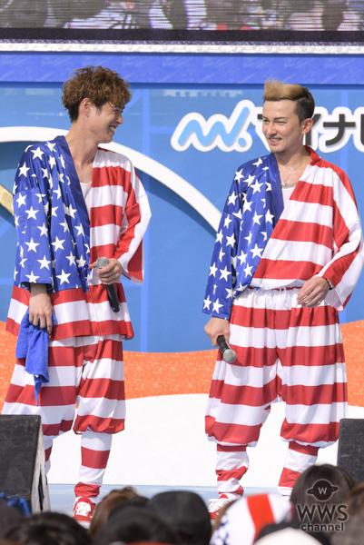 【ライブレポート】DA PUMPがアメリカ色の衣装で『U.S.A.』をパフォーマンス!『めざましサマーライブ2018』に出演!!